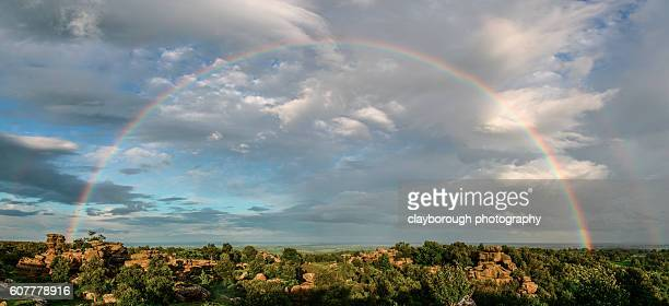 under the rainbow - north yorkshire stock pictures, royalty-free photos & images