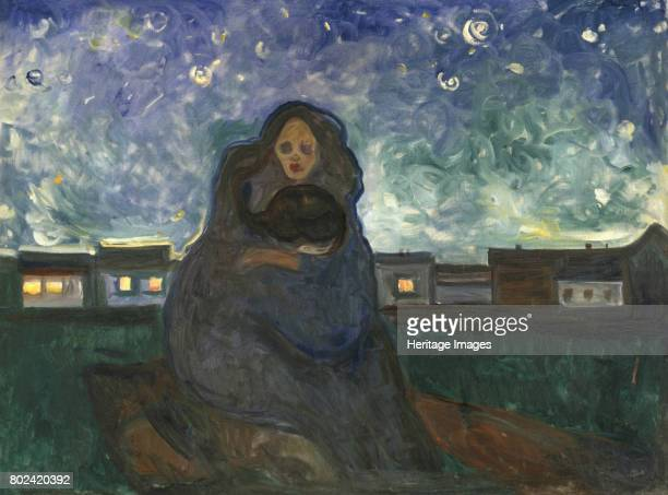 Under the Stars 19001905 Found in the collection of Munch Museum Oslo