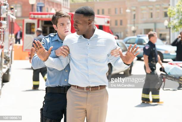 STATION 19 'Under The Surface' It's a lifeanddeath situation when a young boy falls into water pipes beneath the city of Seattle With the clock...