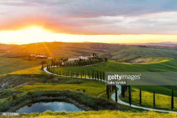 under the tuscan sun. - under the tuscan sun stock photos and pictures