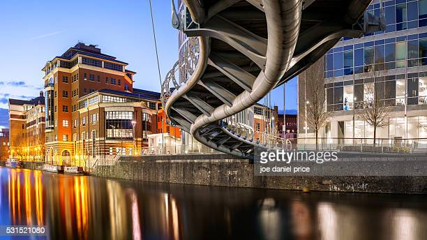 under the valentine bridge, bristol, somerset, england - bristol stock pictures, royalty-free photos & images