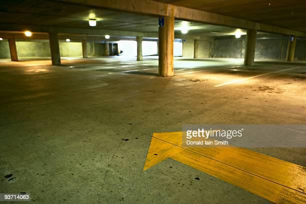 Underground carpark, Palmerston North, New Zealand
