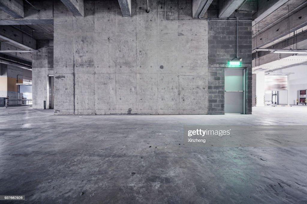 Underground Garage : Stock-Foto