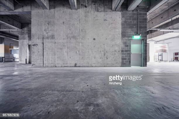 underground garage - concrete stock pictures, royalty-free photos & images
