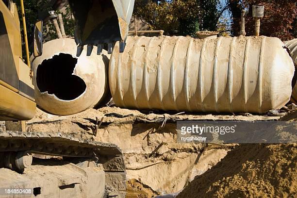 Underground Gas station storage tank replacement