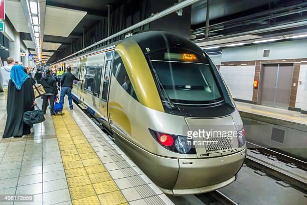 Underground Gautrain Metro