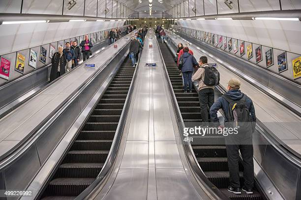 Underground Metro Subway, London, England
