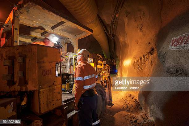 Underground mine workers