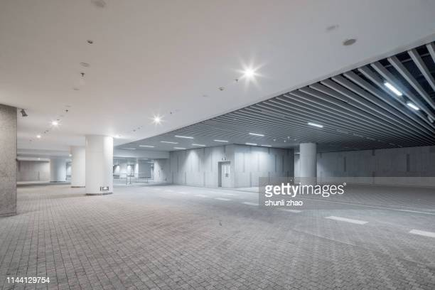 underground parking lot - ceiling stock pictures, royalty-free photos & images