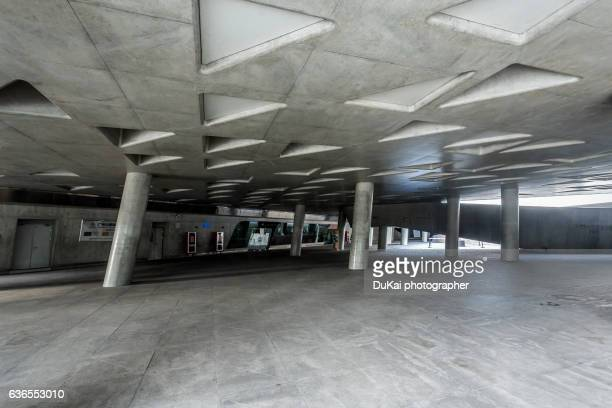underground passage of modern guangzhou architecture building - capital cities stock pictures, royalty-free photos & images