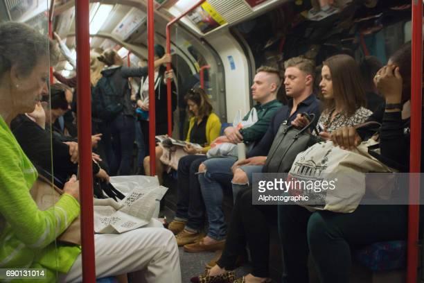 Underground passengers