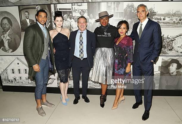Underground stars Alano Miller Jessica de Gouw Kim Rozenfeld EVP Scripted Programming Sony Pictures Telelvision Aisha Hinds Amirah Vann and Peter...
