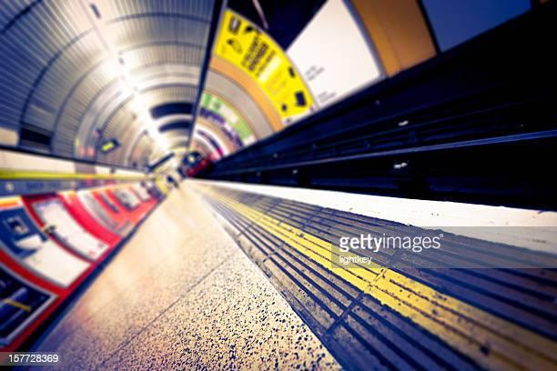 Underground station in London.