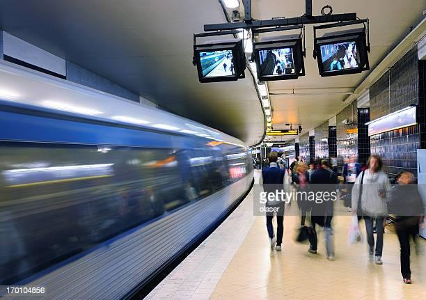 Underground station Slussen