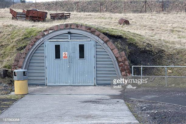 underground storage bunker - bunker stock pictures, royalty-free photos & images