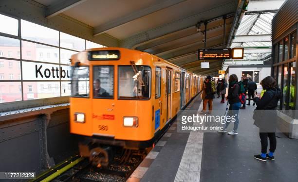 Underground U3 Kottbusser gate cross mountain Berlin Germany UBahn Kottbusser Tor Kreuzberg Germany