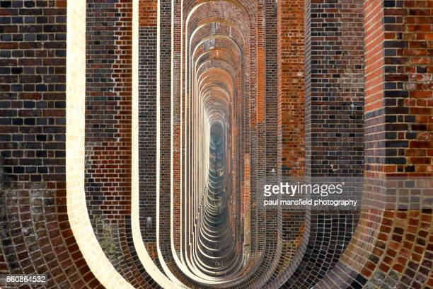 underneath balcombe viaduct - viaduct stock pictures, royalty-free photos & images