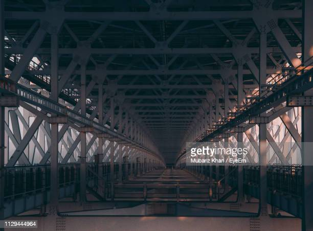 underneath view of bridge - naruto stock photos and pictures