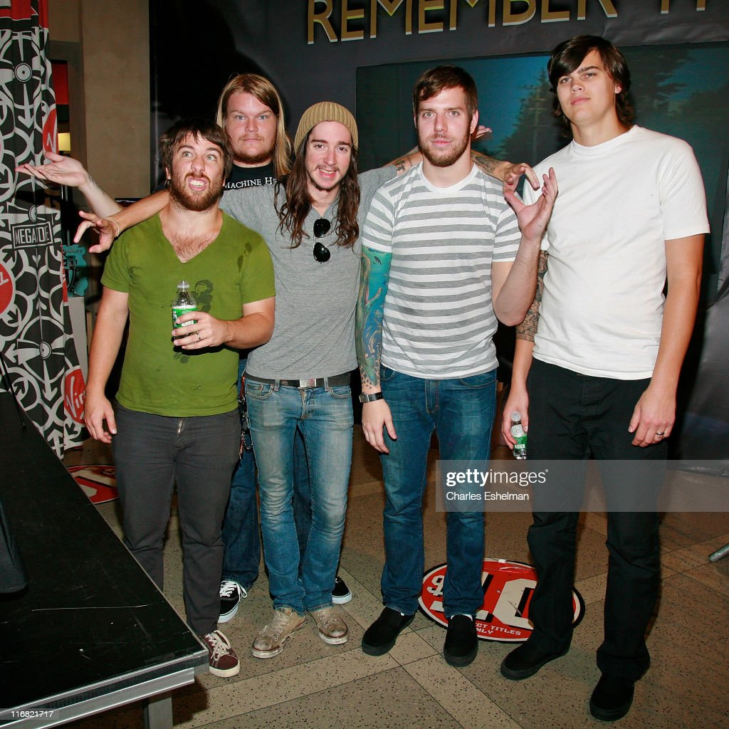 Underoath Band Members Tim Mctague Chris Dudley Spencer