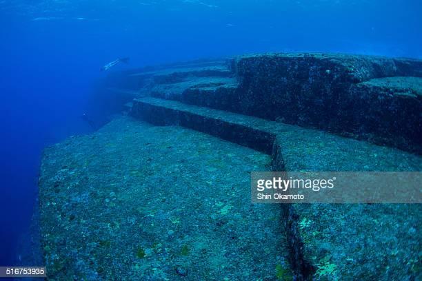 Undersea ruins of Japan