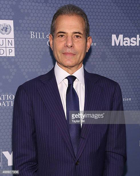 Undersecretary of State for Public Diplomacy and Public Affairs Richard Stengel attends the 2014 Social Good Summit at 92Y on September 22 2014 in...