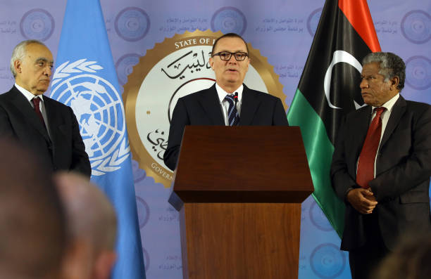 Image result for jeffrey feltman in UNSMIL  Libya