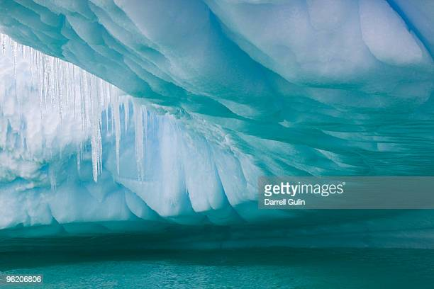 Underside view of Iceberg