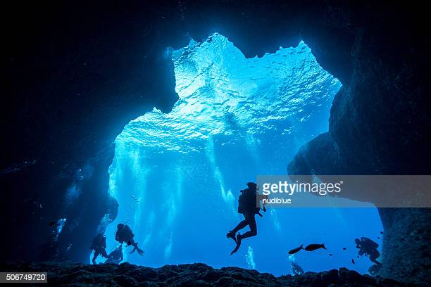 underwater adventure - okinawa prefecture stock pictures, royalty-free photos & images