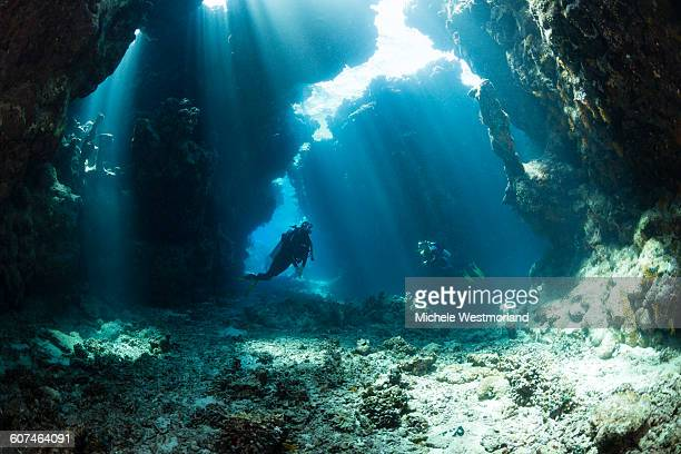 Underwater Caves, Red Sea, Egypt