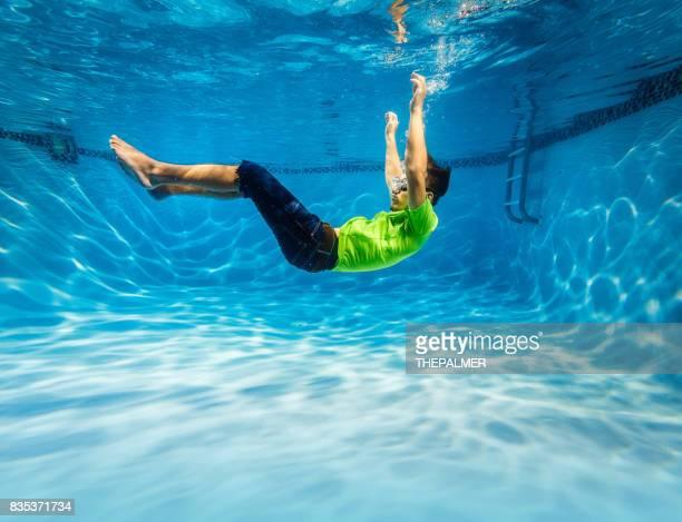 Unterwasser Ausübung