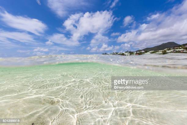 Underwater from Saint Martin Sint Maarten Beaches