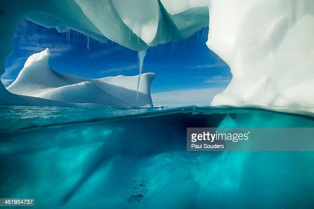 Underwater Iceberg, Antarctic Peninsula