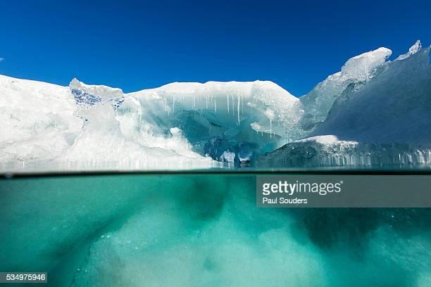 Underwater Iceberg, Antarctica