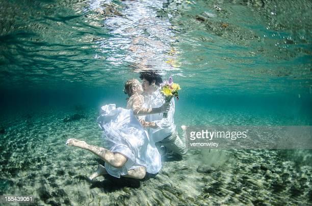 underwater beso