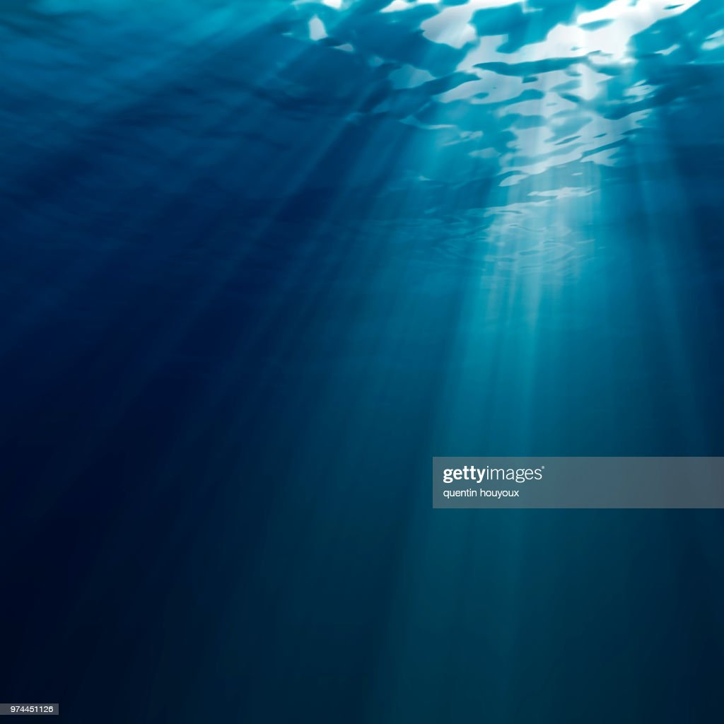 Underwater light : Stock Photo