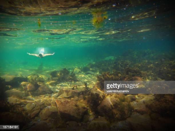subacqueo - archeologia foto e immagini stock