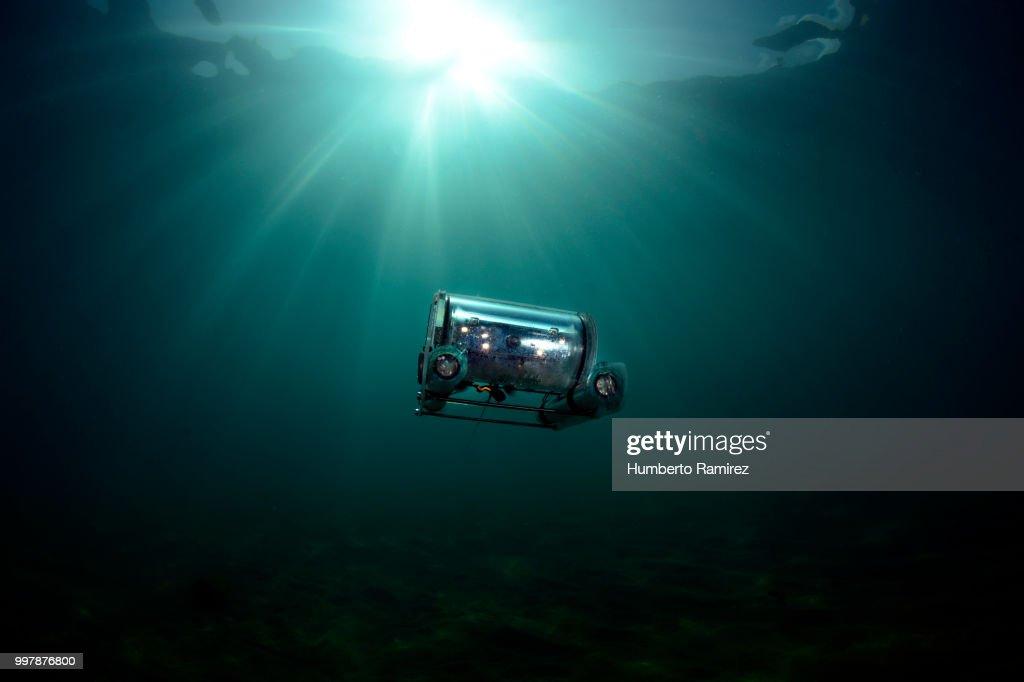 Underwater Rov. : Stock Photo