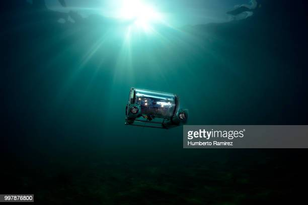 underwater rov. - deep stock pictures, royalty-free photos & images