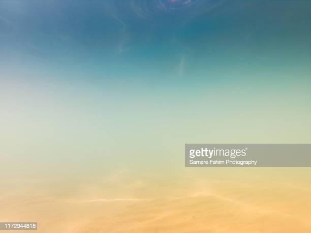 underwater scene - schemering stockfoto's en -beelden