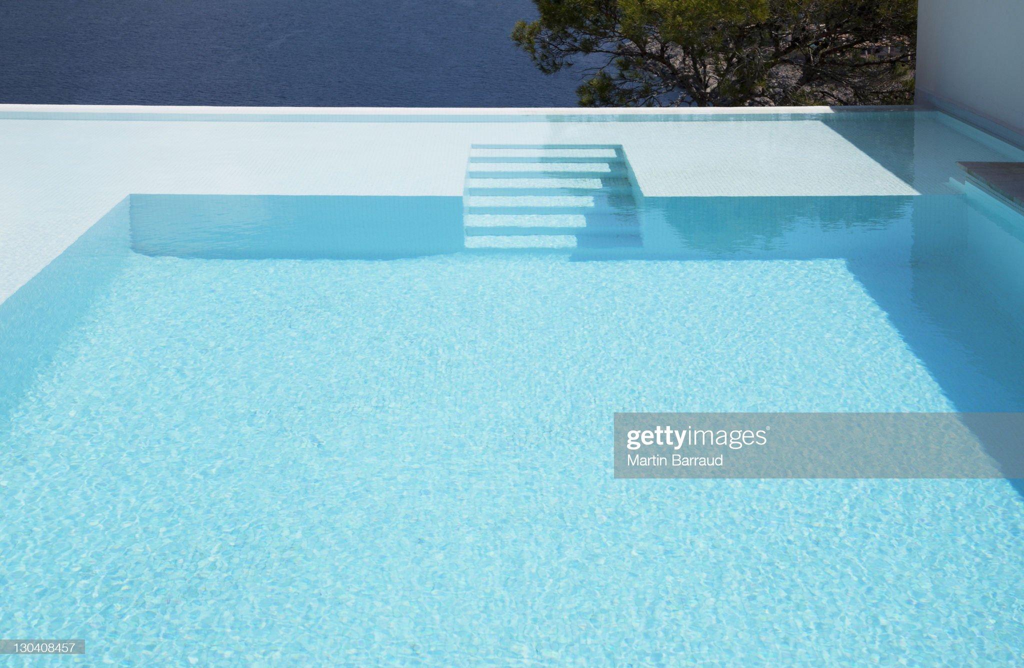 Pas de sous-marine dans la piscine à débordement : Photo