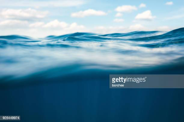 underwater view - wave stock pictures, royalty-free photos & images