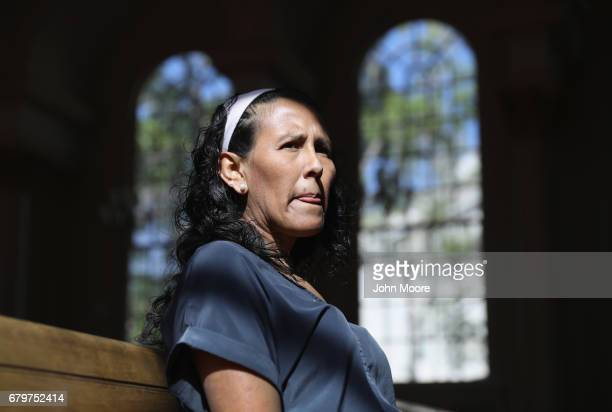 Undocumented immigrant Jeanette Vizguerra takes sanctuary at the First Baptist Church on May 5 2017 in Denver Colorado Vizguerra who has lived in the...