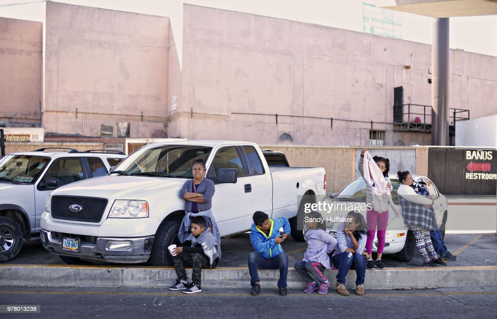 Undocumented Migrants Await Asylum Hearings In Tijuana