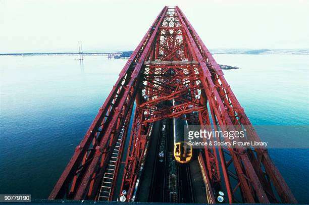 Undoubtedly Britain's most famous railway landmark the Forth Railway Bridge crosses the Firth of Forth near Edinburgh and was constructed to connect...