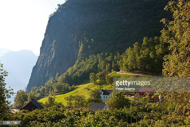 Undredal village, Aurlandsfjord, Norway