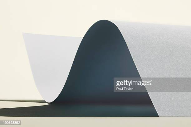 Undulating Sheet of Paper