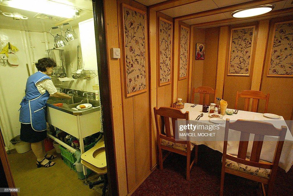 Une Cuisiniere Du Trois Mats Barque Russ Pictures Getty Images