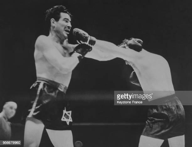 Une phase du combat entre James Braddock et Max Baer en juin 1935