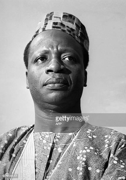 Une photo non-datée du Docteur Emile Zinsou. Zinsou est une personnalité politique du Bénin, dont il fut président de 1968 à 1969. Le Dahomey était...
