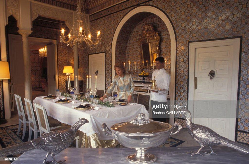 Une Salle A Manger Du Palais De Dar El Kamila Residence De News